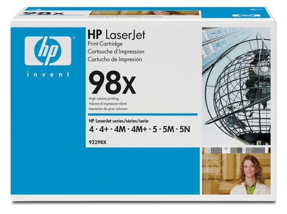 Заправка HP 92298X
