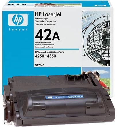Заправка HP Q5942A