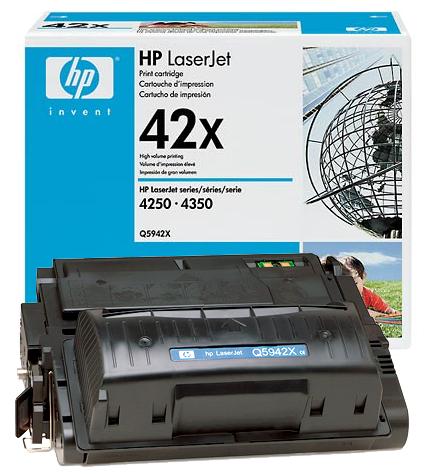 Заправка HP Q5942X