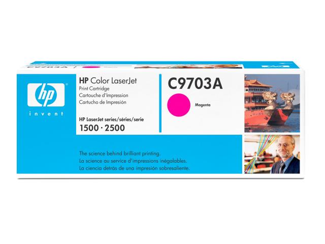 Заправка HP C9703A