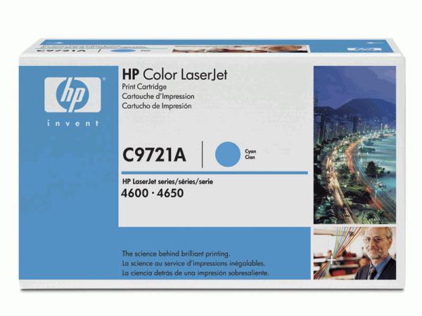 Заправка HP C9721A