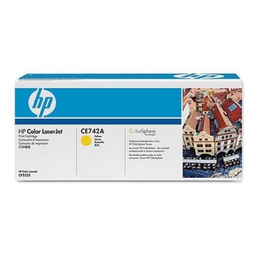 Заправка HP CE742A
