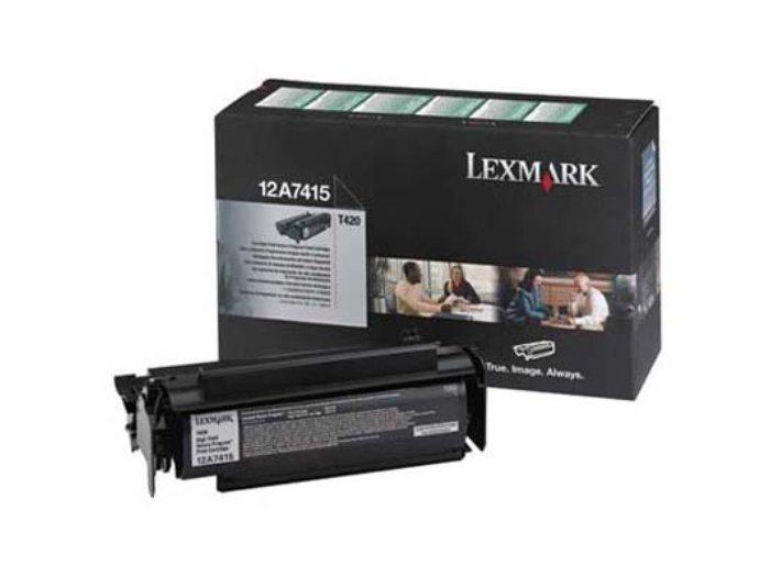 Заправка Lexmark T420