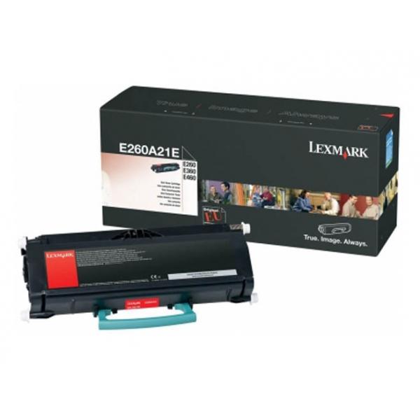 Заправка Lexmark E260