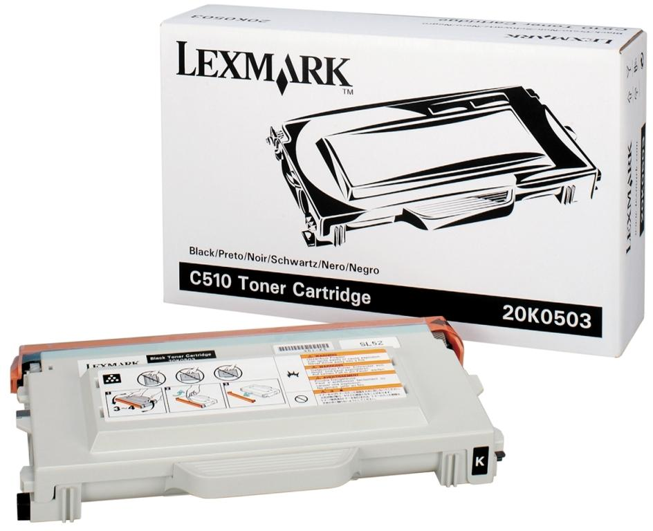 Заправка Lexmark C510 Black