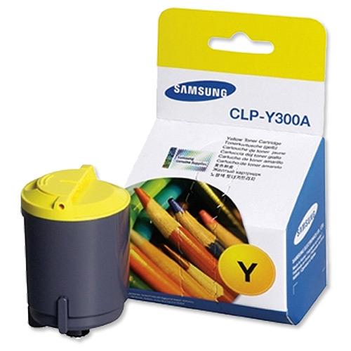 Заправка Samsung CLP-300 Yellow