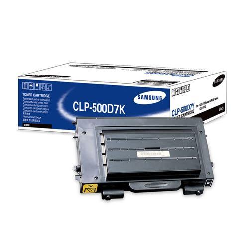 Заправка Samsung CLP-500D7K Black