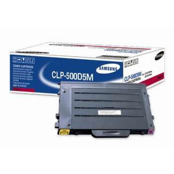 Заправка Samsung CLP-500D5M Magenta