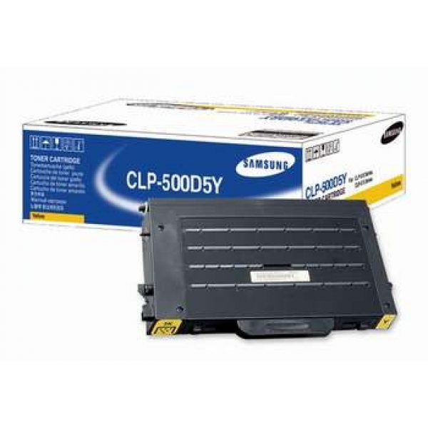 Заправка Samsung CLP-500D5Y Yellow