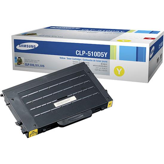 Заправка Samsung CLP-510D5Y Yellow