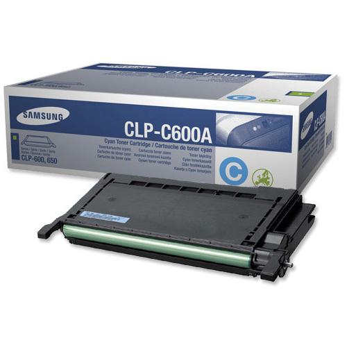 Заправка Samsung CLP-C600A Cyan