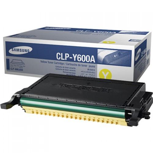 Заправка Samsung CLP-Y600A Yellow