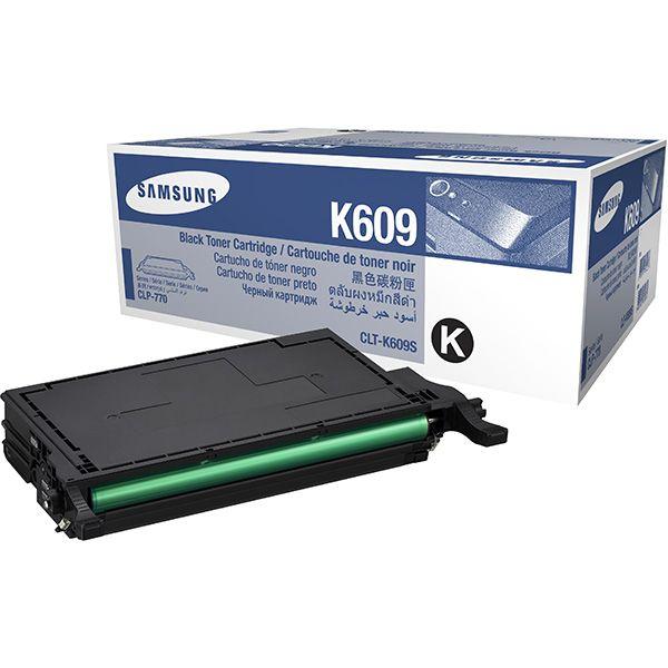Заправка Samsung CLP-K609A Black