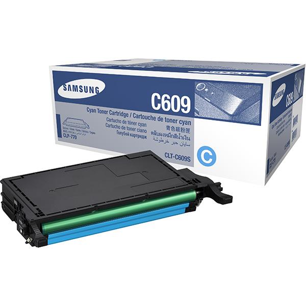 Заправка Samsung CLP-C609A Cyan