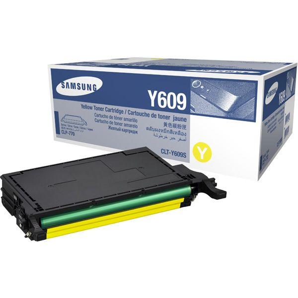 Заправка Samsung CLP-Y609S Yellow