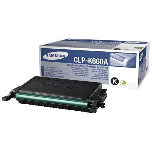 Заправка Samsung CLP-K660B Black