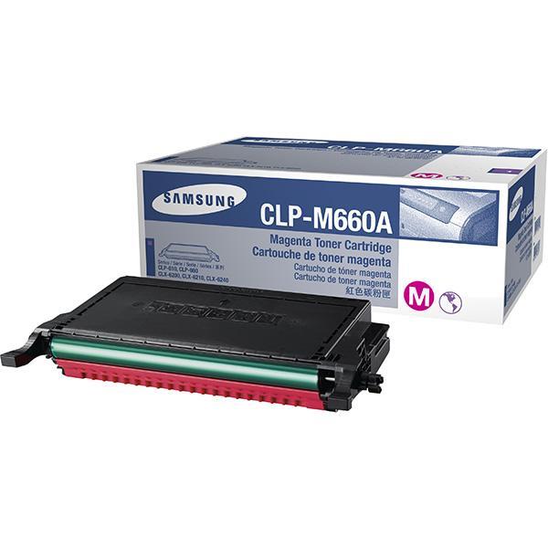 Заправка Samsung CLP-M660B Magenta