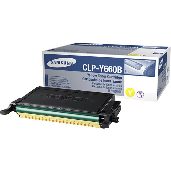 Заправка Samsung CLP-Y660B Yellow