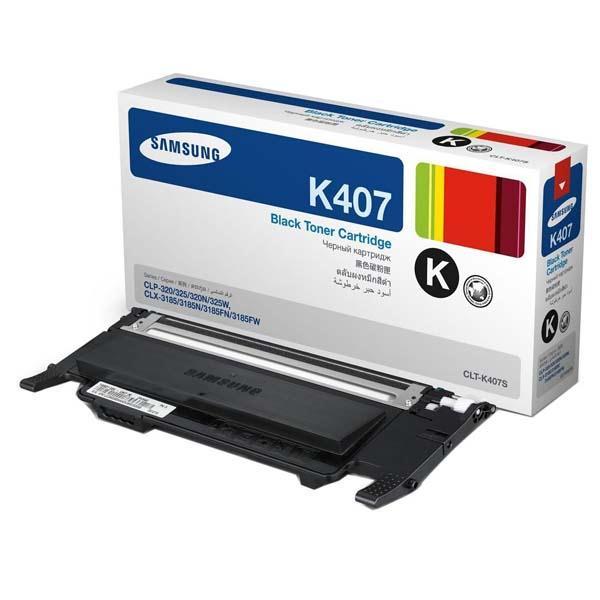Заправка Samsung CLT-K407S Black