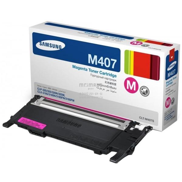 Заправка Samsung CLT-M407S Magenta