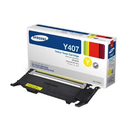 Заправка Samsung CLT-Y407S Yellow