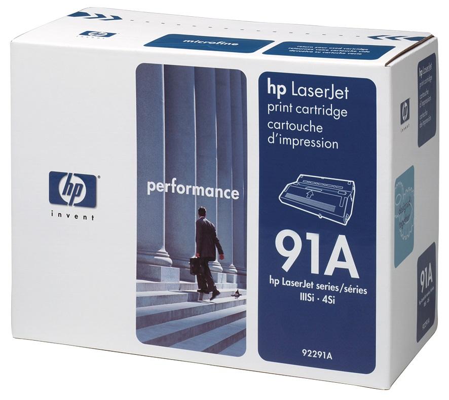 Заправка картриджа HP 92291A
