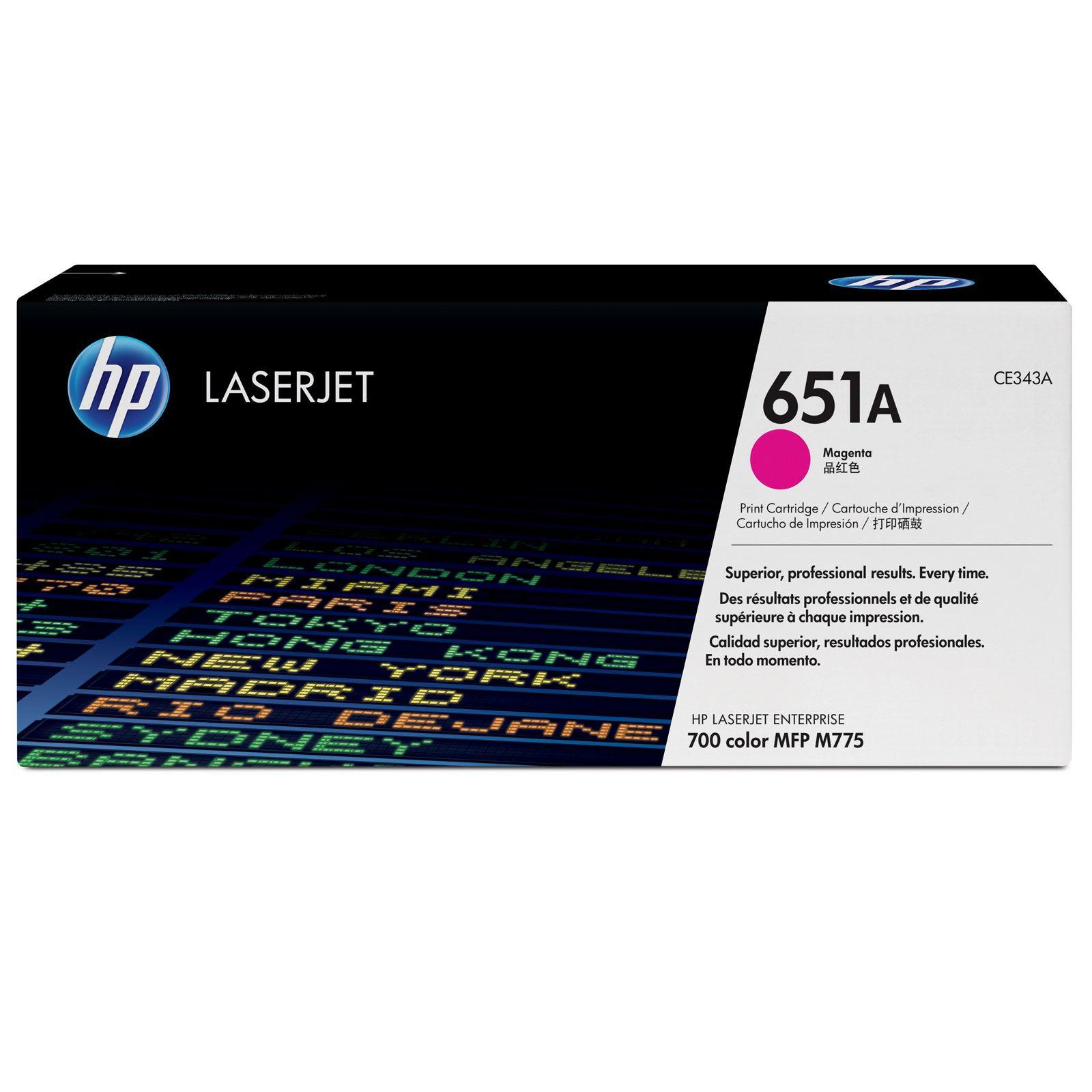 Заправка HP CE343A