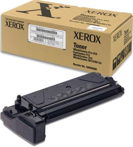 Заправка Xerox WorkCenter 312 106R00586
