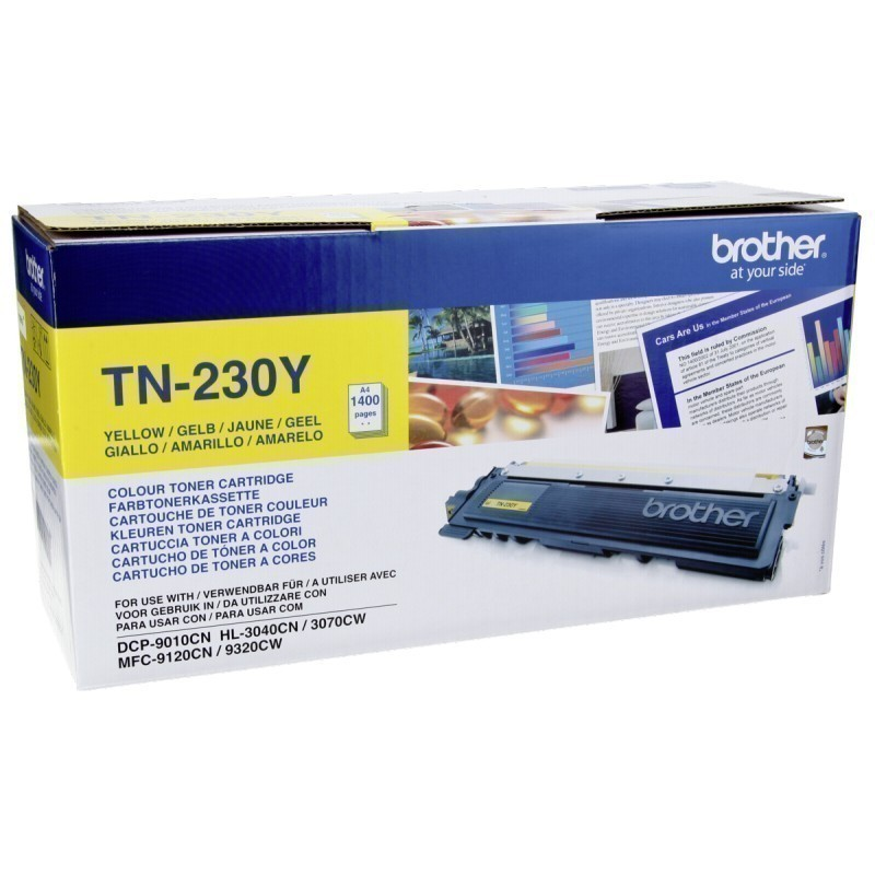 Заправка Brother TN-230 Yellow