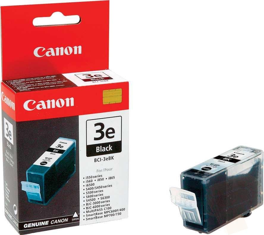 Заправка струйного картриджа 'Canon' BCI-3eBK