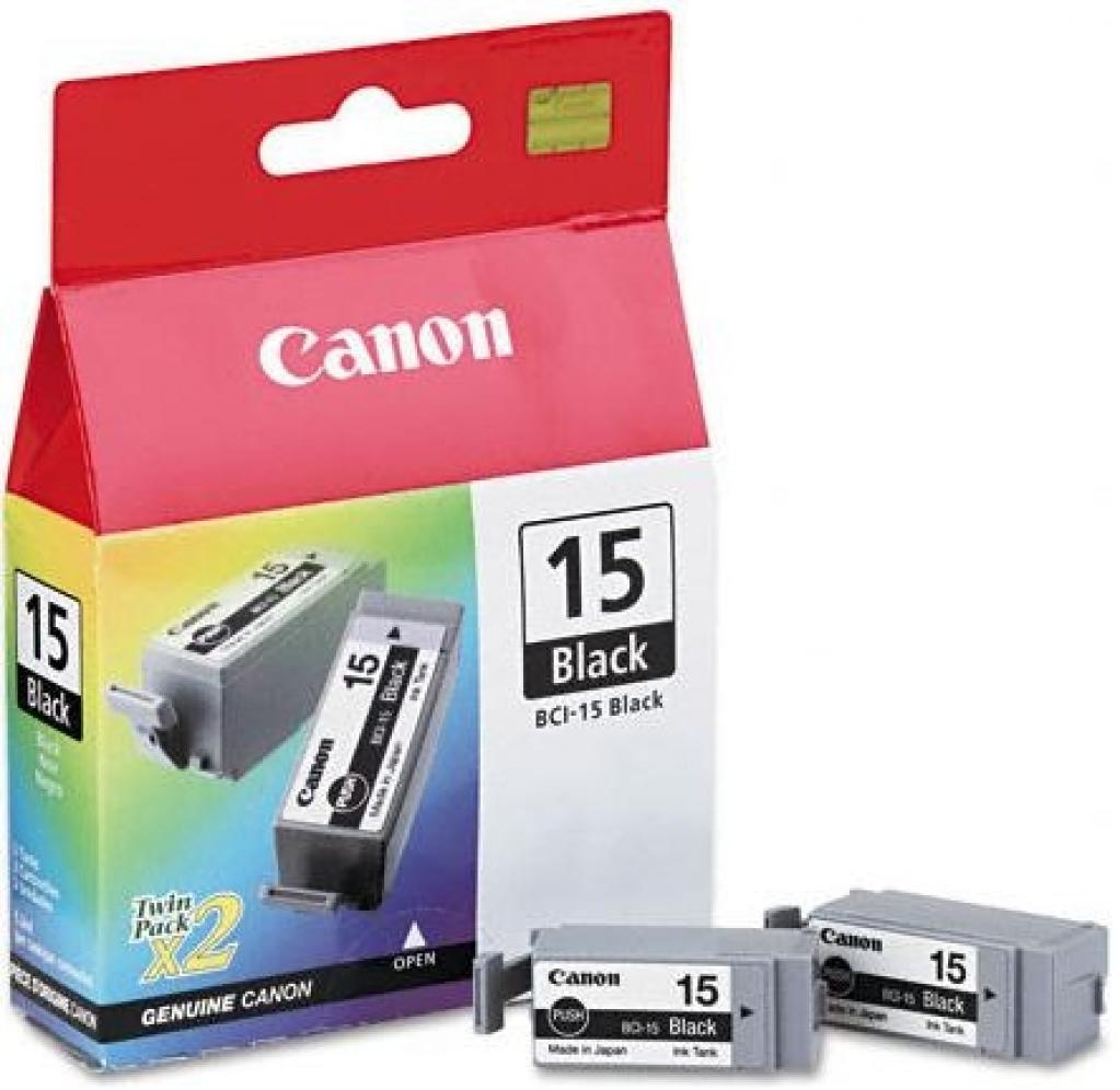 Заправка струйного картриджа 'Canon' BCI-15BK