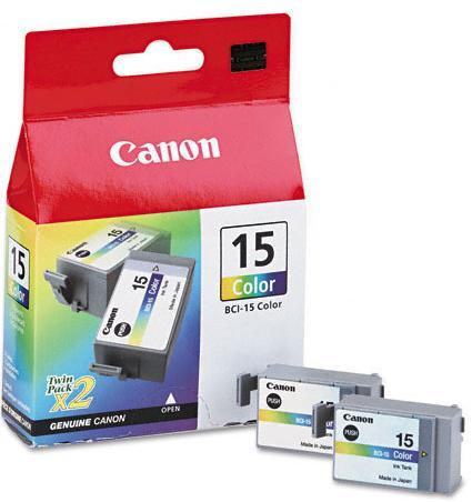Заправка струйных цветных картриджей 'Canon' BCI-15C