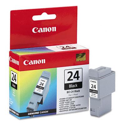 Заправка струйного картриджа 'Canon' BCI-24BK