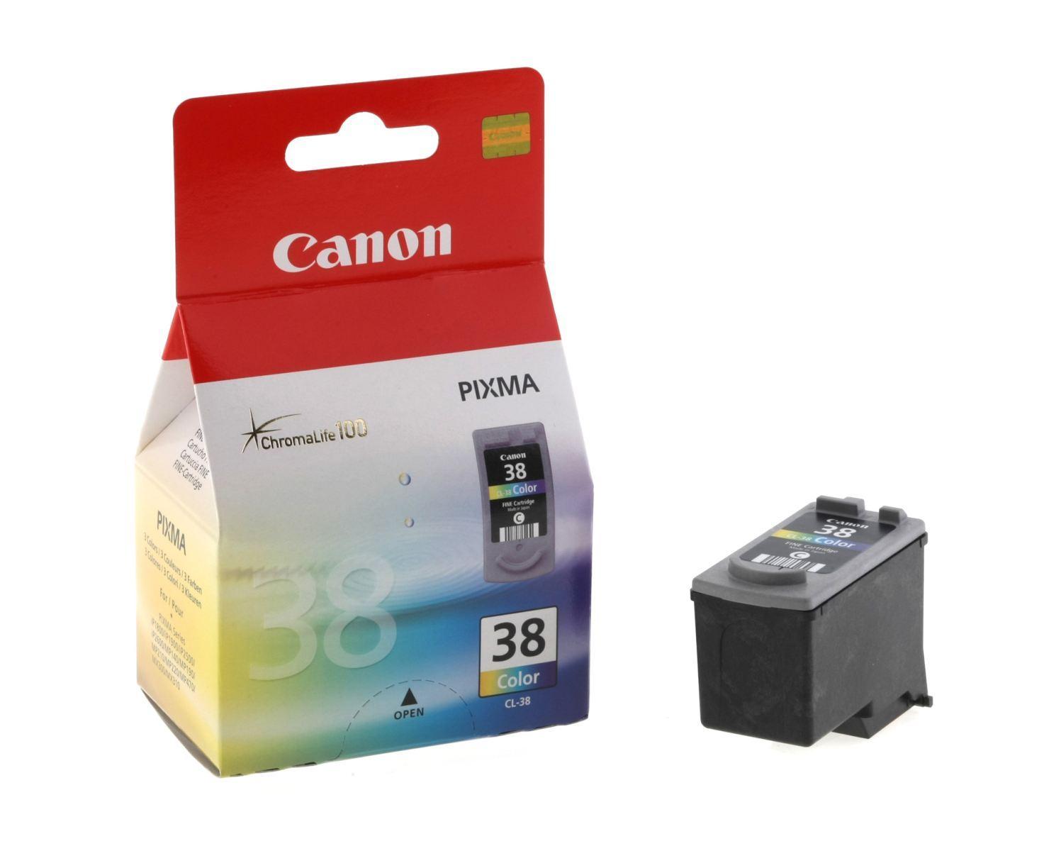 Заправка струйного картриджа 'Canon' CL-38