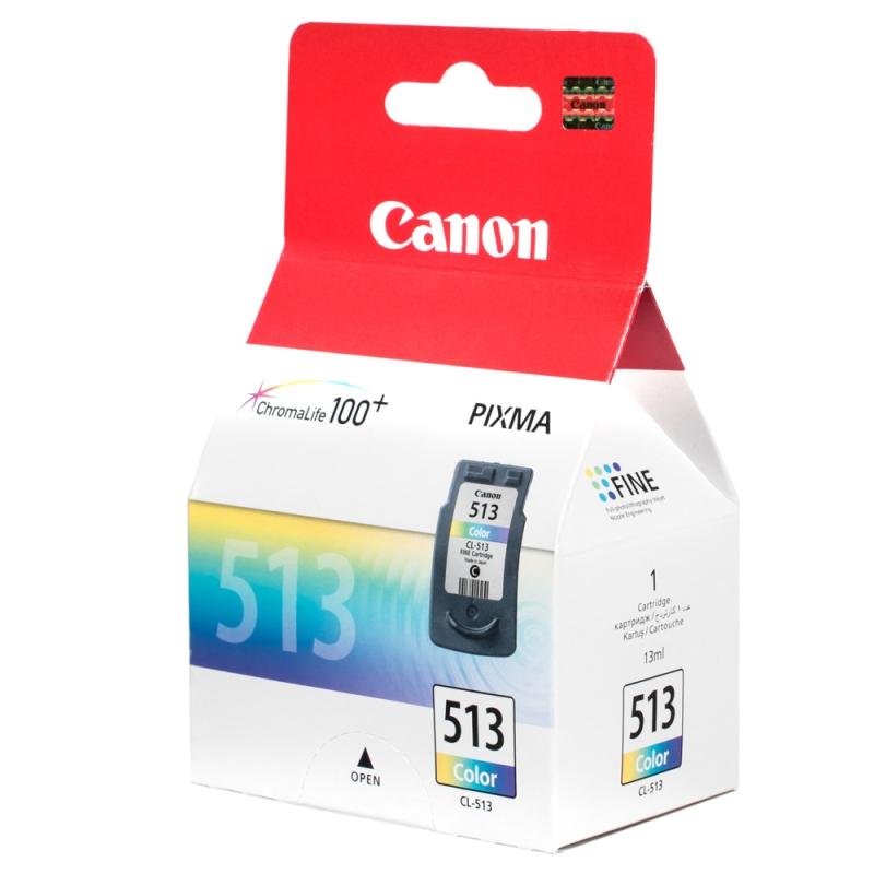 Заправка струйных цветных картриджей 'Canon' CL-513