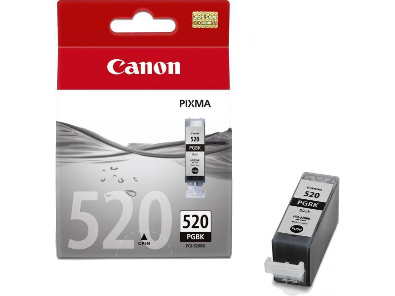 Заправка струйного картриджа 'Canon' PGI-520BK