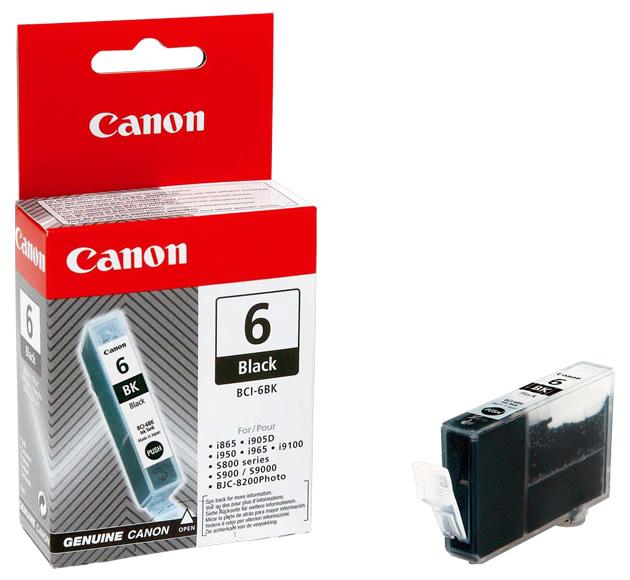 Заправка струйного картриджа 'Canon' BCI-6BK