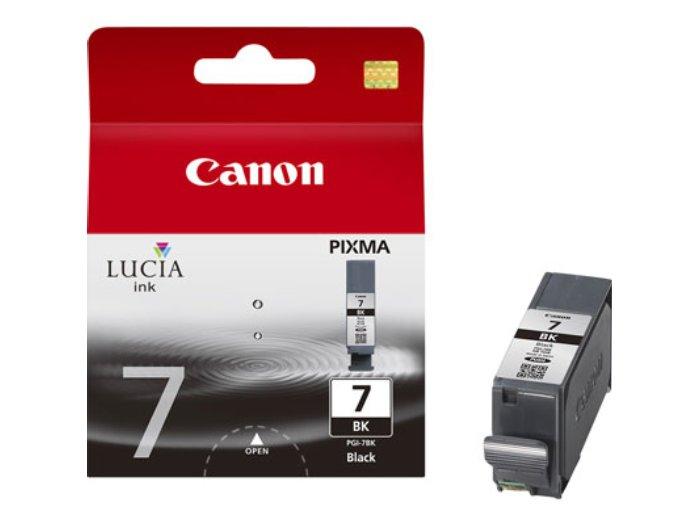 Заправка струйного картриджа 'Canon' PGI-7BK